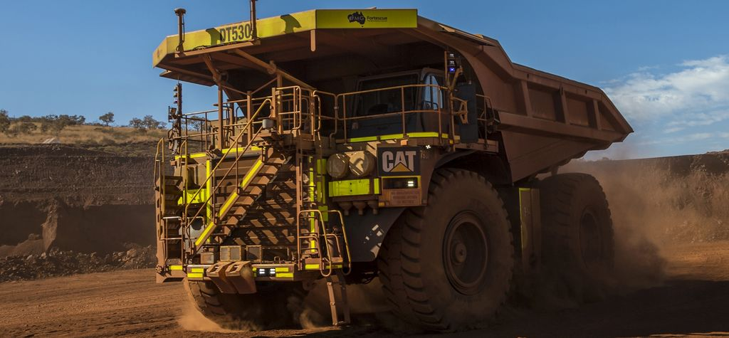 Cat hits heavy hauling milestone