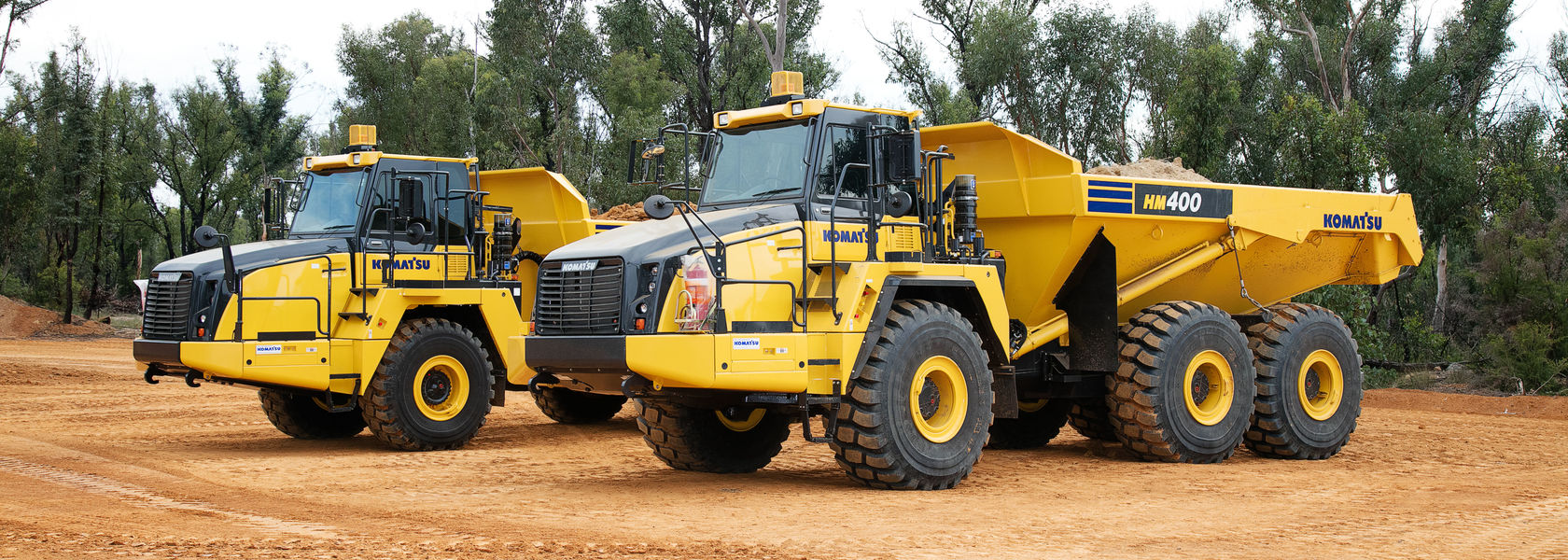 Komatsu Launches Two New Articulated Dump Trucks Mining Magazine