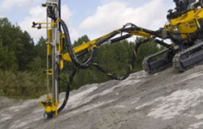 Radio controlled rigs from Atlas Copco
