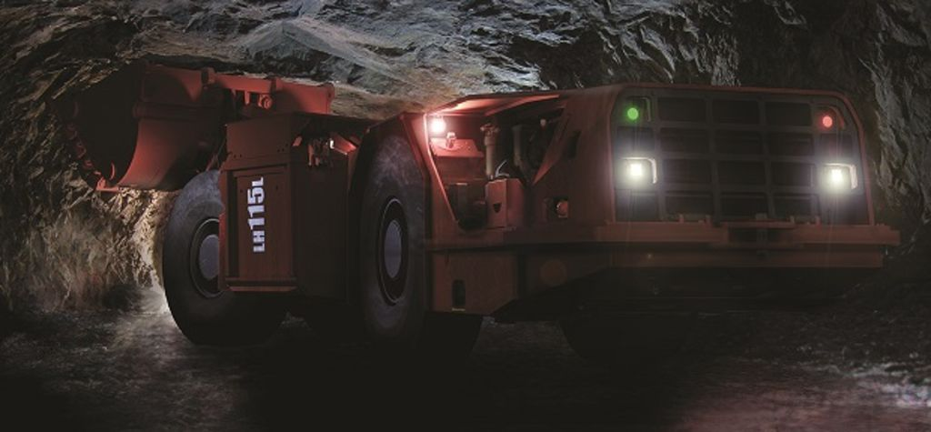 New low-profile loader from Sandvik