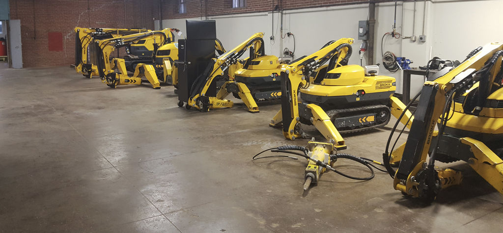 Brokk opens new US centre