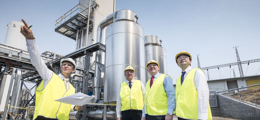 Funding for Aussie carbon capture plant
