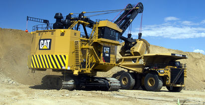 Caterpillar updates drive system for electric rope shovels