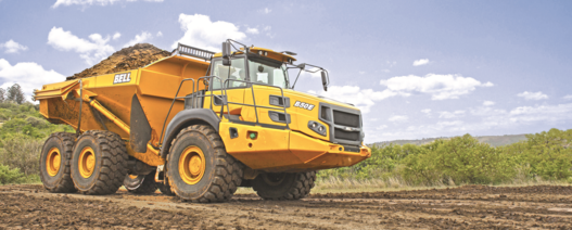 Bell dump trucks upgrade to Stage V MTU engines