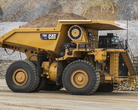 Cat 794 AC available in Tier 4 Final configuration