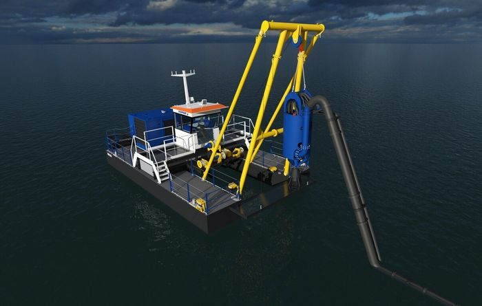 Damen drops Dop dredger series