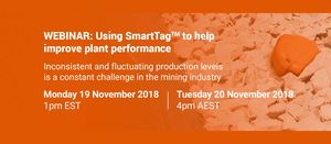 Metso Webinar: Using SmartTag™ to help improve plant performance