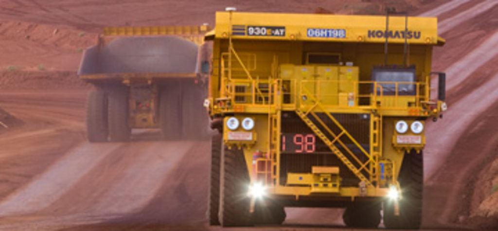 Rio Tinto boosts driverless truck fleet to 150