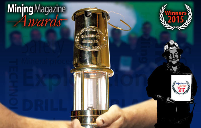 Mining Magazine Awards 2015 winners