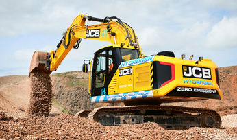 JCB launches hydrogen fuel cell excavator