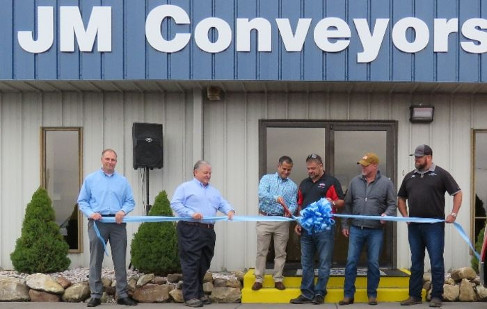 Jennmar cuts ribbon at conveyor facility