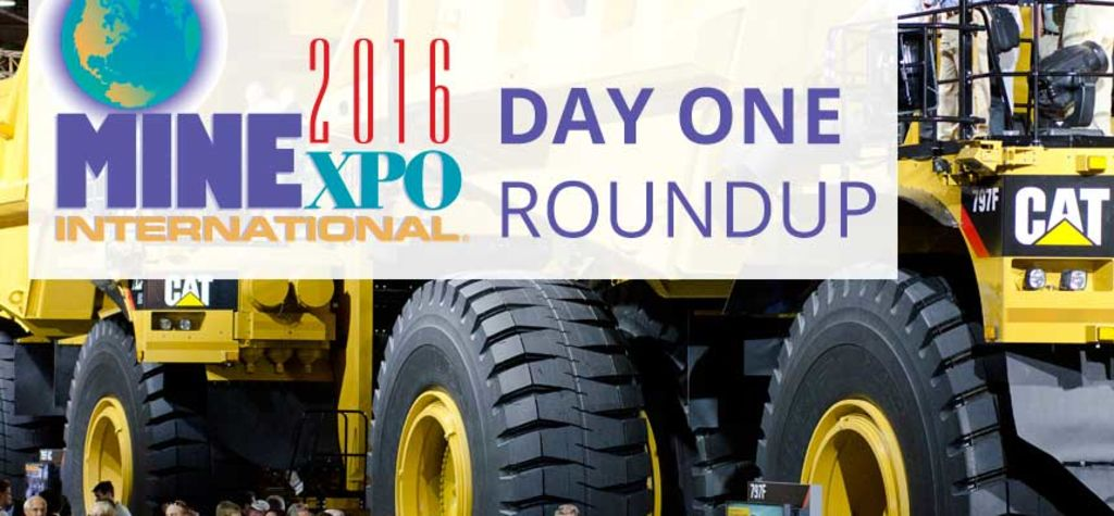 Live from MINExpo 2016: Day 1