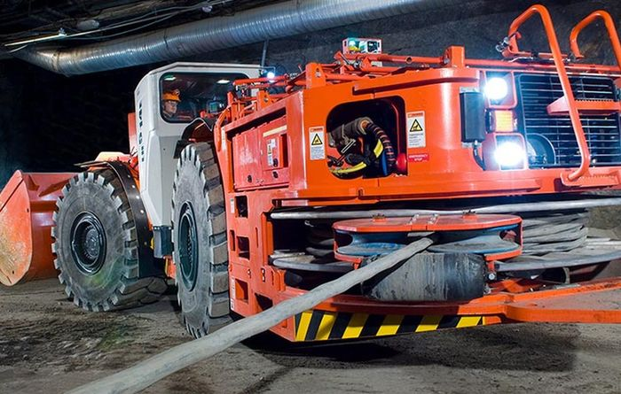 Sandvik gives giant electric LHD a makeover