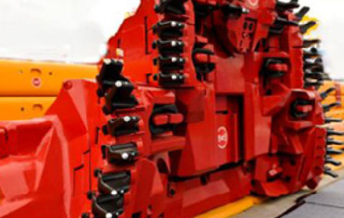 Fully automated coal plow from CNCME