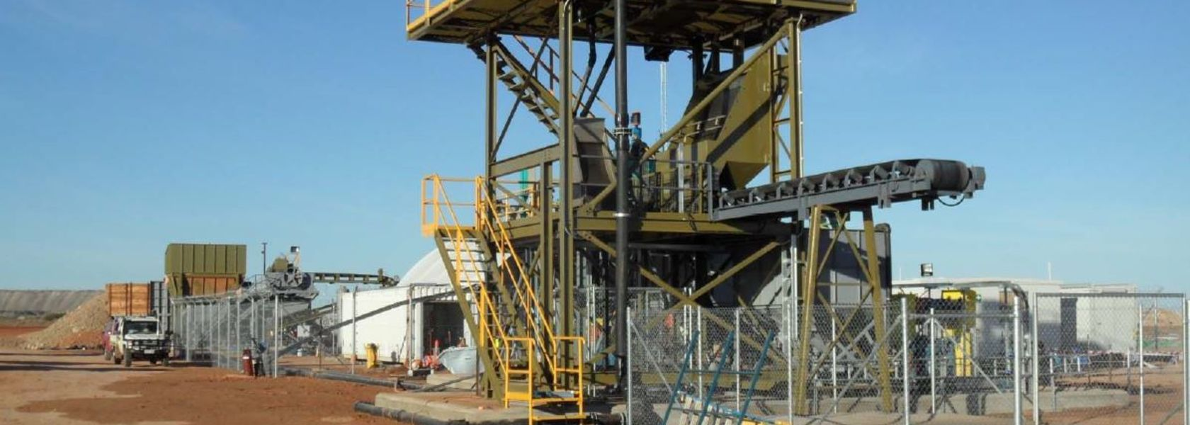 Portia plant treats first gold ore