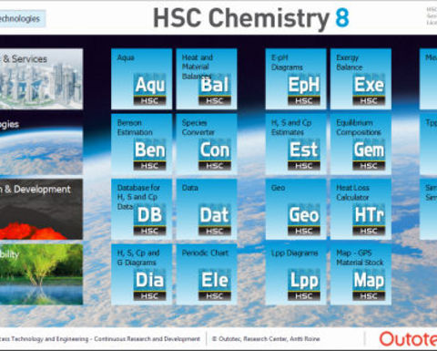 Outotec updates HSC Chemistry software