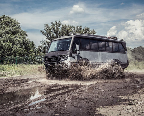 New Torsus Praetorian 4x4 off-road bus