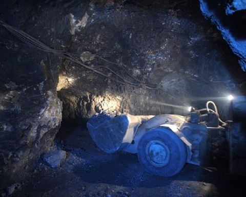Caijiaying zinc mine back in production