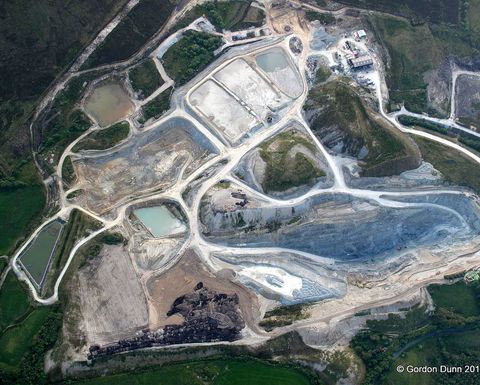 Omagh gold mine development on hold