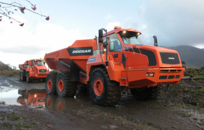 New Doosan Stage IV/Tier 4 Final ADTs