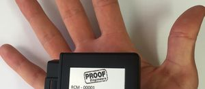 New Proof Engineers haul road monitoring device
