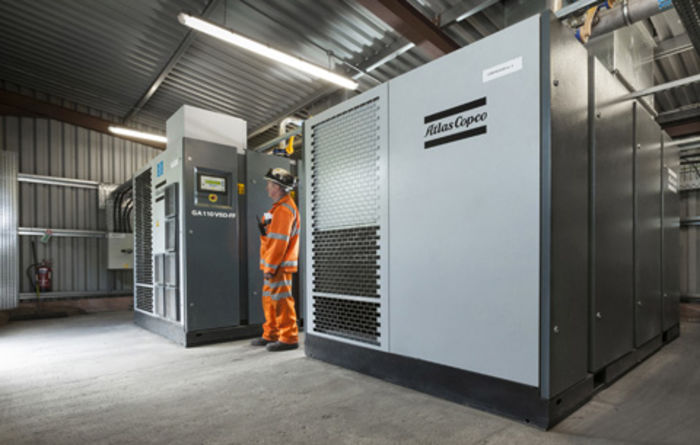 Unity Mine uses Atlas Copco compressors