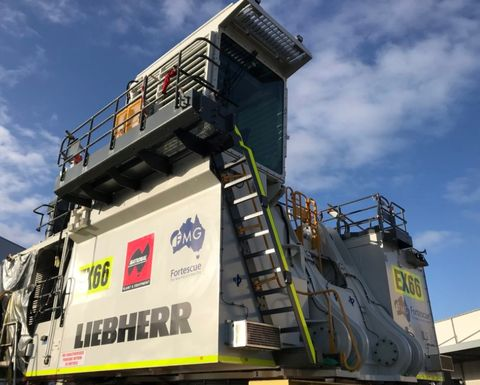 Fortescue hires Liebherr excavator from NPE