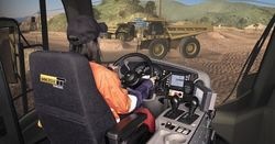 Endeavour trains with Immersive simulators