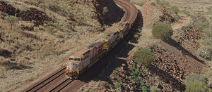 Rio Tinto's driverless train delivers first iron ore batch