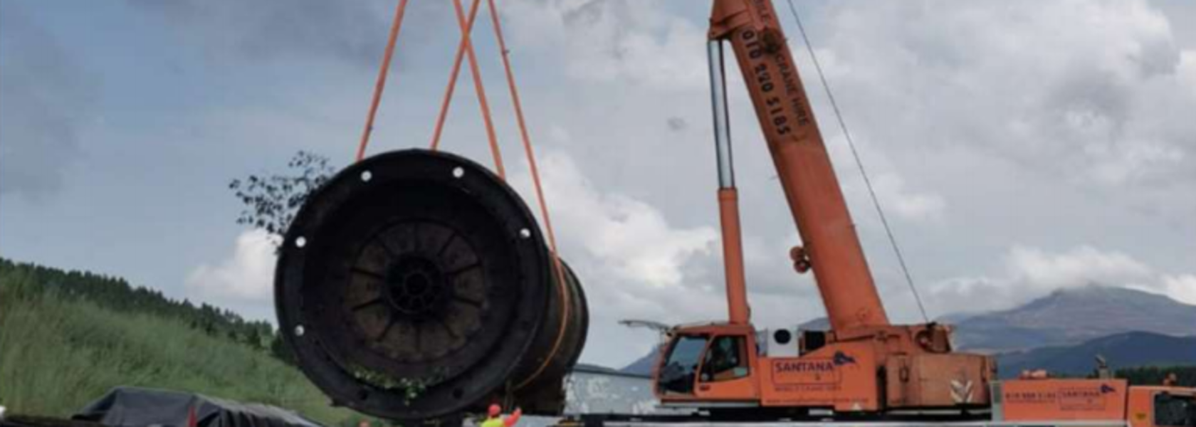Theta brings ball mill to site