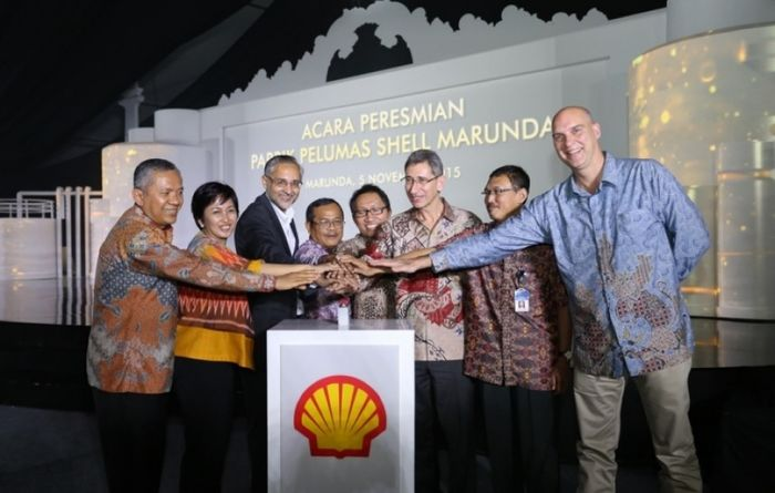 Shell opens Indonesia lubricant plant