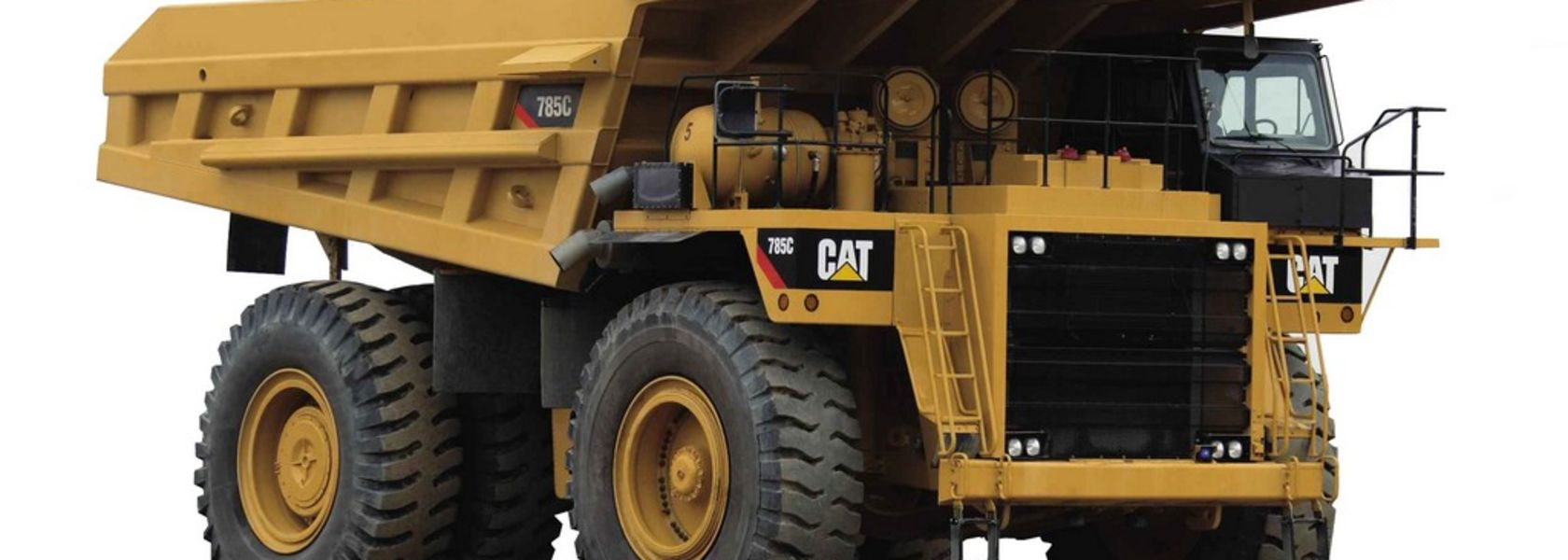 Dual fuel retrofit kit for Cat 785C