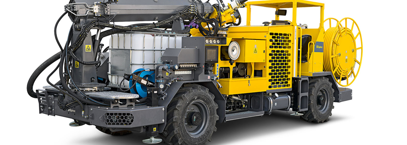 Epiroc upgrades Meyco ME3 concrete sprayer
