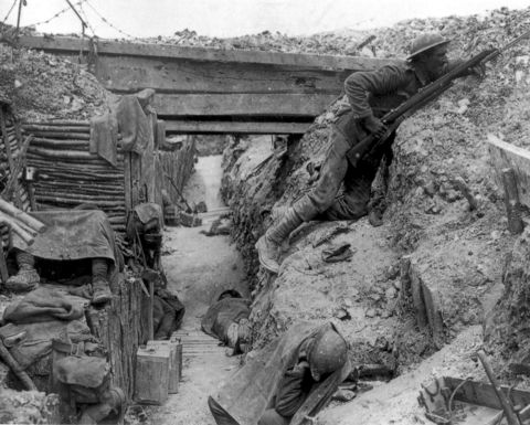 Mining the Somme