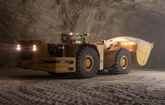 Rebuilding machines underground for Cargill