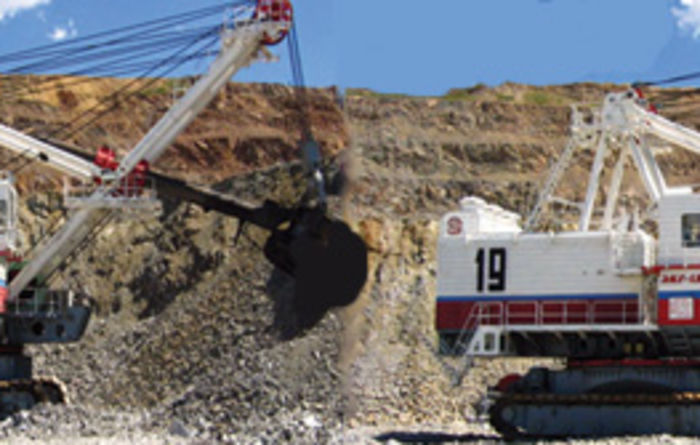 New Russian electric shovel starts work
