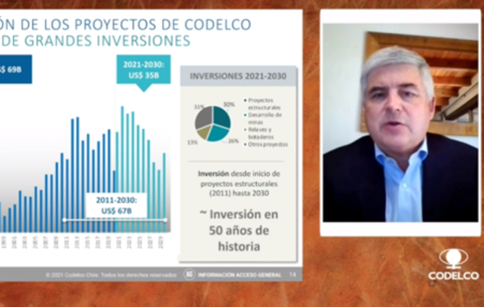 Codelco boss says productivity key to future Chile copper investment
