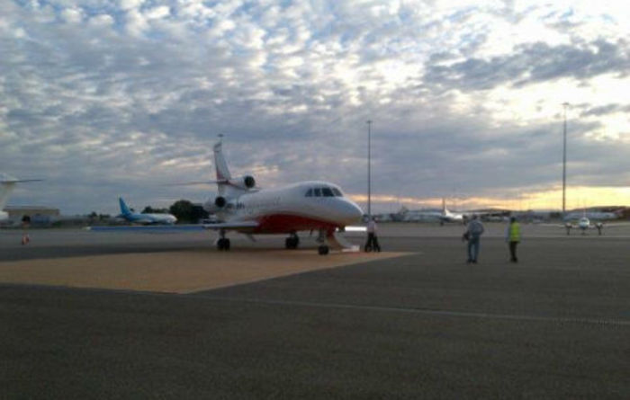 Mining sector using more private aviation