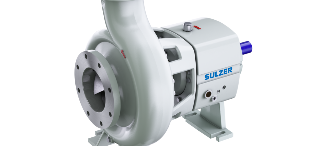 New Sulzer centrifugal process pump