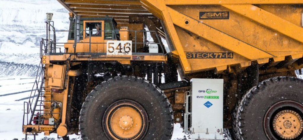 Teck announces LNG haul truck pilot project
