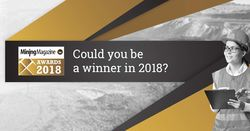 Nominations open for Mining Magazine awards 2018