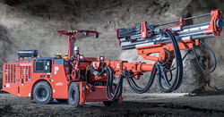Sandvik launches 2711 narrow vein drills