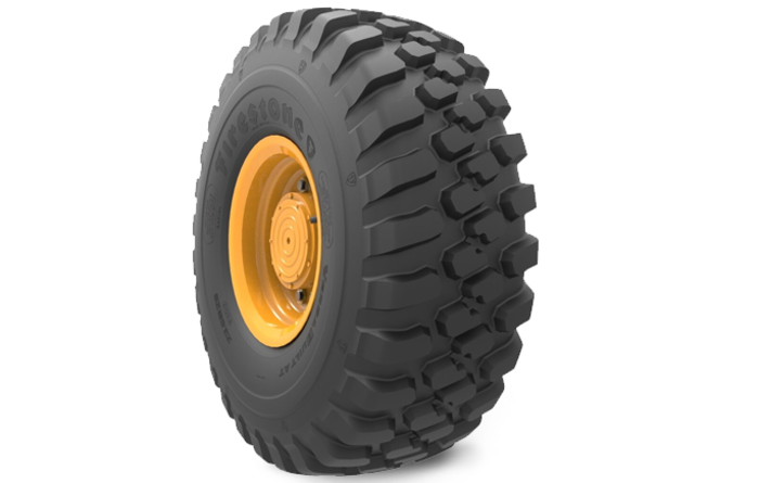 New Firestone off-the-road radial tyre line