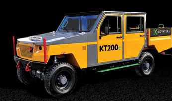 Kovatera introduces electric UG vehicle