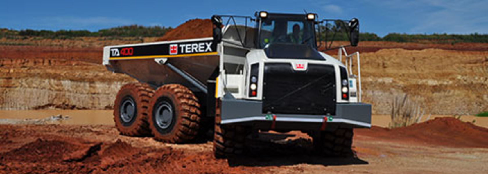 Terex to sell truck business to Volvo