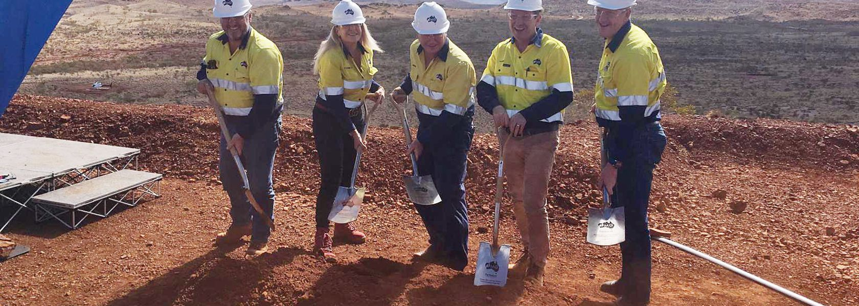 Fortescue breaks ground on Eliwana development