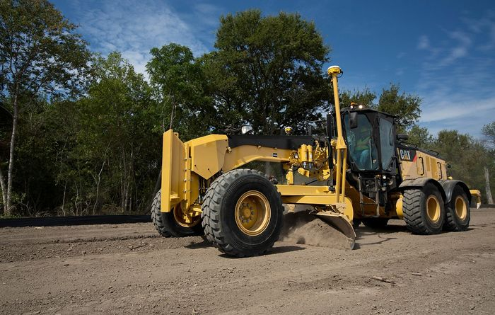 Caterpillar's new 14M3 motor grader