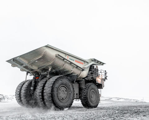 Metso truck body innovation finds home at Aitik