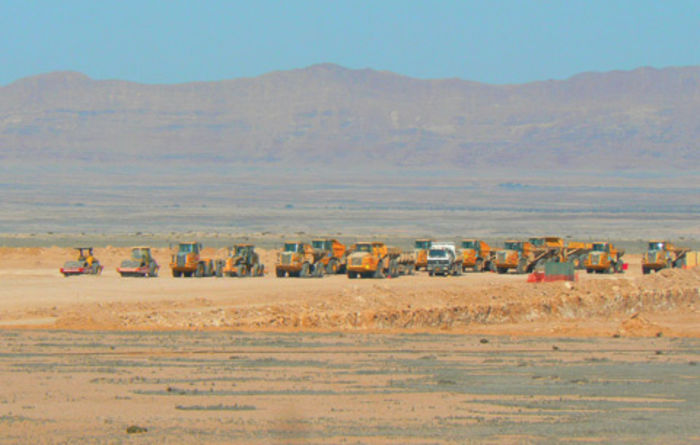 Gearing up at Husab mine