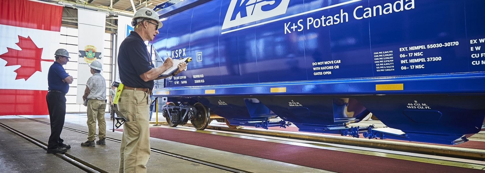 New domestic rail cars delivered to Bethune - Mining Magazine